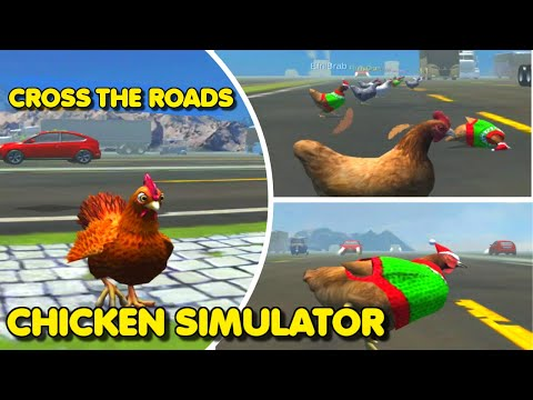 Chicken Simulator: Crossy Road 3d, Rush Hour – 24 Roads Crossed   Gameplay #1 (Android Game)