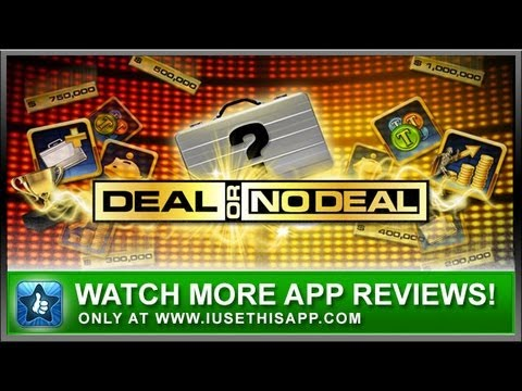 Deal Or No Deal iPhone App Review - Game Show Apps - App Reviews