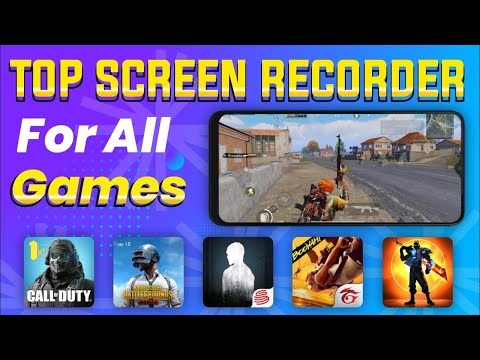 Best gaming screen recoder for android   How to best screen recorder app in (Hindi) shouryagaming