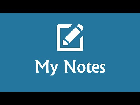 video review of My Notes - Notepad