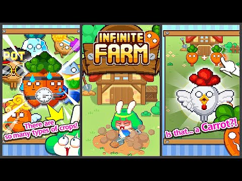 Infinite Farm (Gameplay Android)
