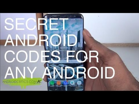 Secret Android Codes And Hidden Settings For All Android Devices
