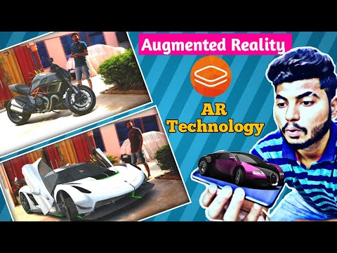 Augmented Reality Tutorial | AR effect car, Fectar app | Best cool app | Android & ios | videshi