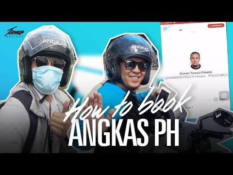 How to use and book Angkas PH App | General Santos City