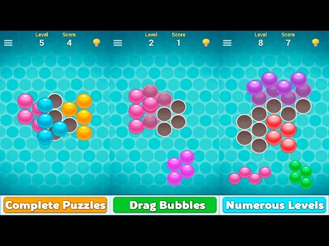 Bubble Tangram Game Android Gameplay