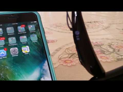How to connect Bluetooth Headphones HBS-750 to Iphone 7