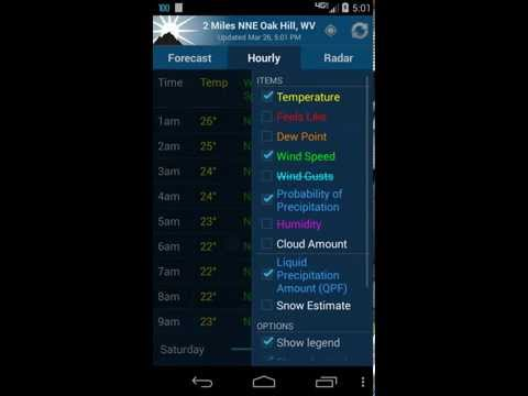 video review of NOAA Weather Unofficial