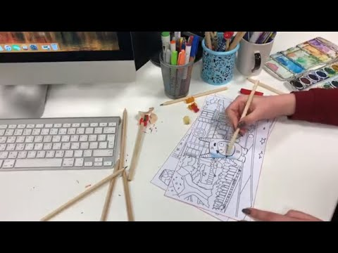 video review of Oddbods Live Coloring (AR)