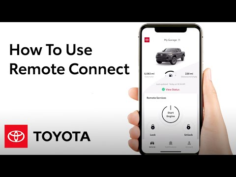 How To Use Remote Connect in the Toyota App | Toyota