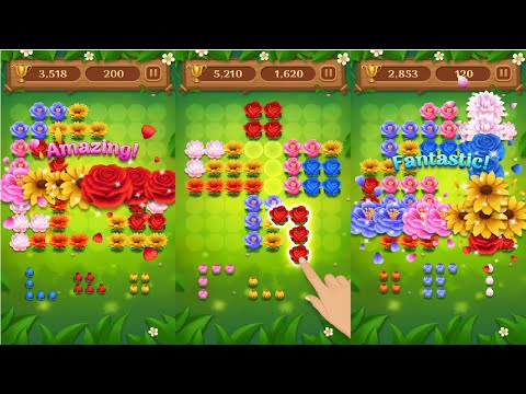 Block Puzzle Blossom Android Gameplay