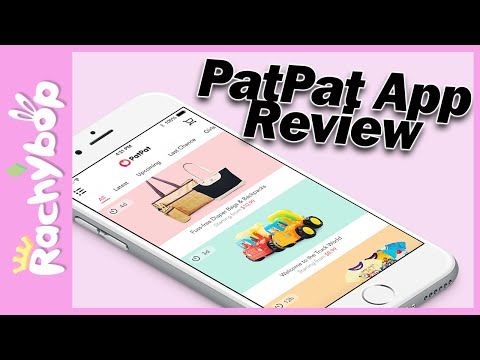PatPat [the best mobile shopping] App Review!
