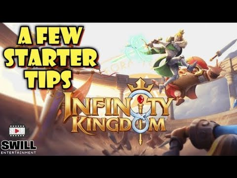 A FEW STARTER TIPS | Infinity Kingdom | Android iOS