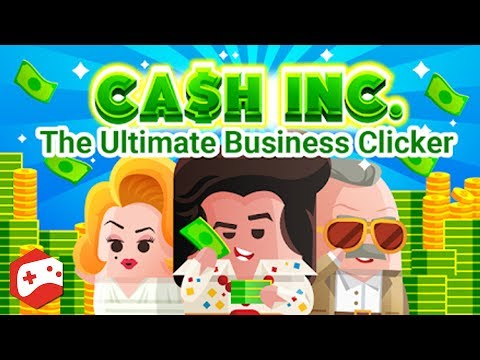 Cash, Inc. Money Clicker Game & Business Adventure - iOS/Android Gameplay Video