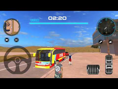 Modern City Coach Bus Driving Simulator: Bus Rider - Bus Android Gameplay