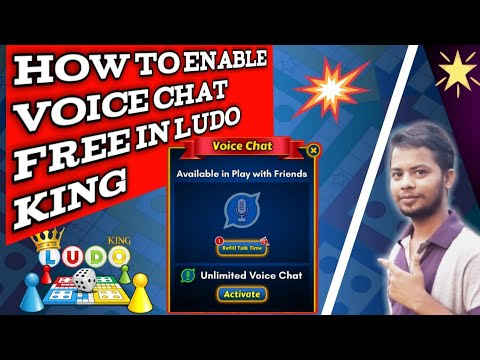 Ludo King Voice Chat Free / voice chat enable free in Ludo king