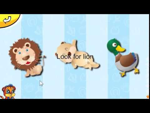 Animals for kids android game for kids on GooglePlay