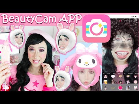 Apps with Kawaii filters | Beauty Cam | 2019