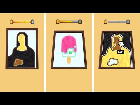Paint Dropper - Android Gameplay Part 1 - Walkthrough - new game  (iOS, Android)