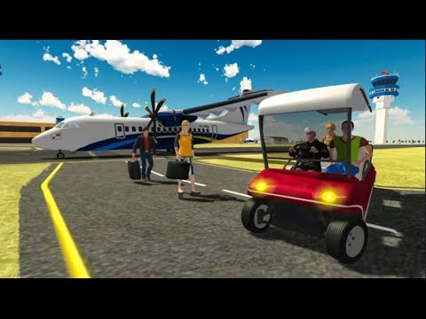City Airport Taxi Car Driving Simulator Game For Kids -  Videos For Kids - Android GamePlay HD