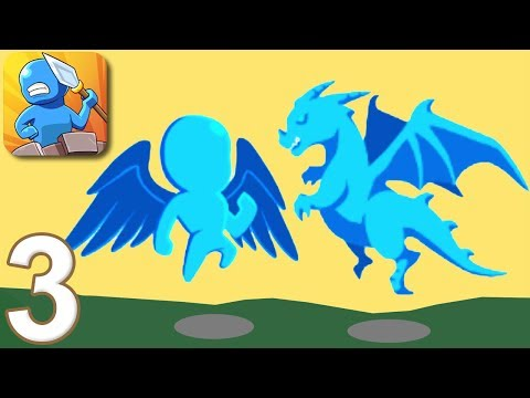TINY BATTLE - Walkthrough Gameplay Part 3 - LEVELS 5-6 (iOS Android)