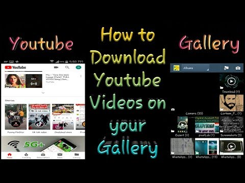How to Download Videos from Youtube ! Saved into your Gallary ! # SOCIAL MEDIA