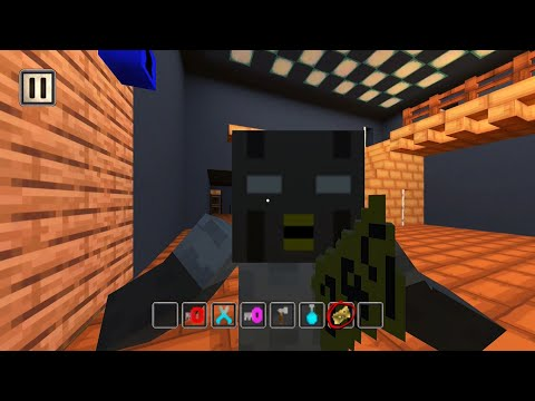 Blocky Granny Mod Chapter One | iOS / Android Mobile Gameplay