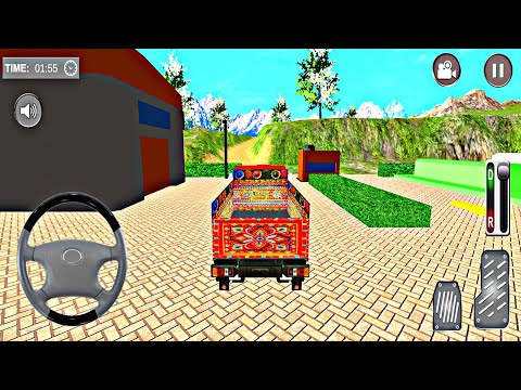 Indian Mountain Heavy Cargo Truck: Euro Truck Girl - #40 Android GamePlay