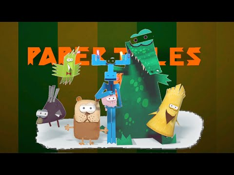 Paper Tales | Creative Game (Android Gameplay) | Cute Little Games