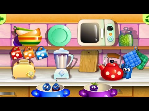 Funny Food - Kindergarten learning games for toddlers | Colors