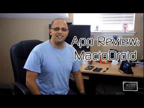 MacroDroid Automation -- Android App Review