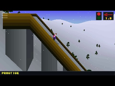 video review of Deluxe Ski Jump 2