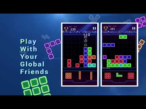 video review of Glow Block Puzzle