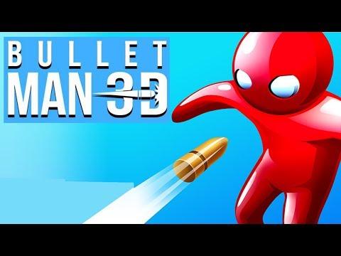 Bullet Man 3D - Android Gameplay (By Crazy Labs by TabTale)