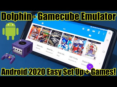 Dolphin - Gamecube Emulator - Android 2020 - Easy Set Up   Games!