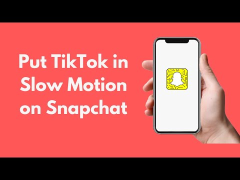 How to Put TikTok in Slow Motion on Snapchat ( Android & iPhone )