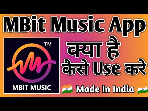 MBit Music App Kaise Use Kare । how to use mbit music app। MBit Music Particle.ly Video Status Maker