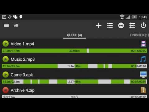 video review of Advanced Download Manager & Torrent downloader