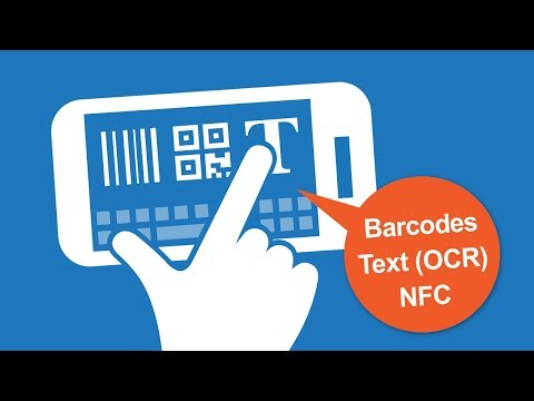 video review of Barcode/NFC/OCR Scanner Keyboard