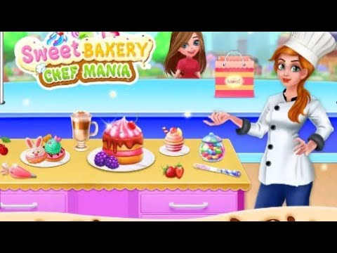 Sweet Bakery Chef Mania: Baking Games For Girls - Android games.