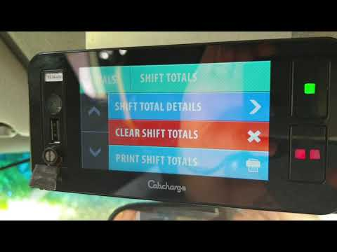 How to log off your Cabcharge machine