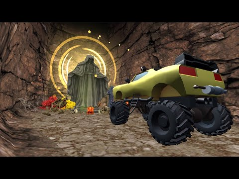 video review of Maze and Car : 4x4 Monster Car Racing Game In Maze