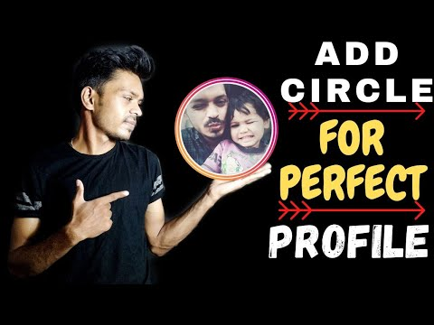 How to add coloured Circle on INSTAGRAM Profile 😍  | MAKE PERFECT PROFILE !