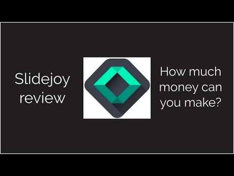 Slidejoy Review - how much money made in 21 days using the free Android app