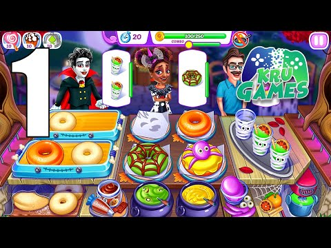 Halloween Madness : Cooking Games Fever Gameplay Walkthrough #1 (Android, IOS)
