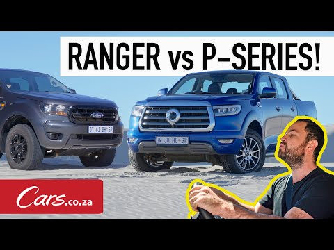 New GWM P-Series LT 4x4 vs Ford Ranger XL Sport - In-depth review and buying advice