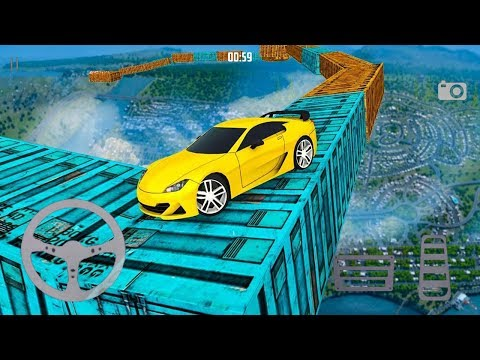 Extreme Impossible Tracks Stunt Car Racing (by Tulip Apps) Android Gameplay [HD]
