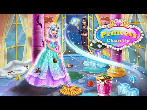 video review of Princess Home Girls Cleaning