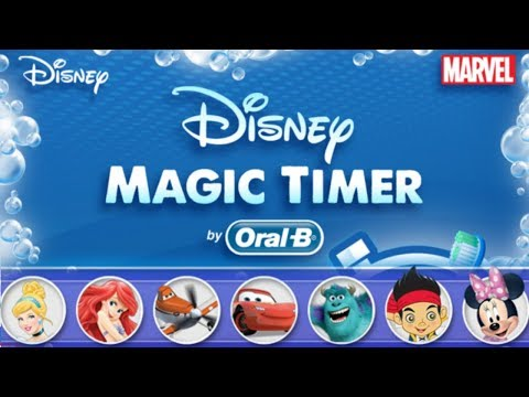 DISNEY MAGIC TIMER ORAL B Android/Apple KIDS Video Game First Look Play Through