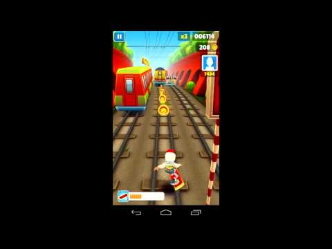 Subway Surfers on Android Gameplay