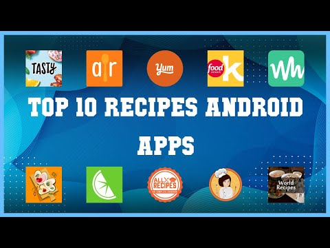 Top 10 Recipes Android App | Review